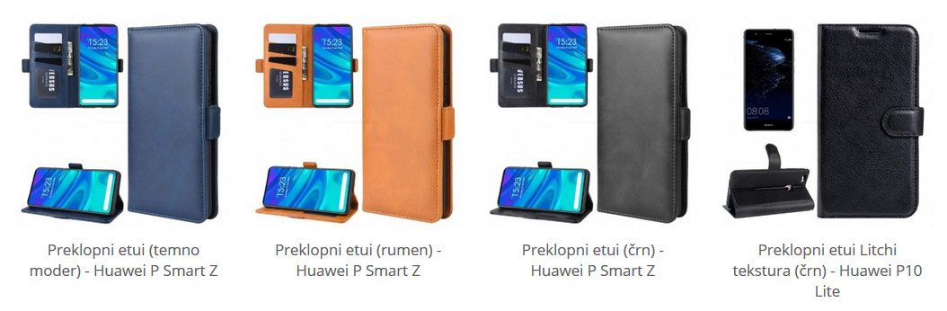 Preklopni etuiji za Huawei